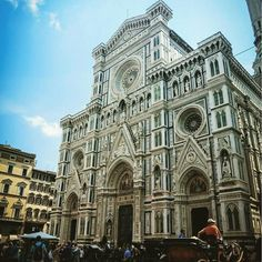 Basilica of Santa Croce Florence  The Basilica di Santa Croce (Basilica of the Holy Cross) in Tuscany Italy. Completed in1385 the Basilica is the largest Franciscan church in the world.