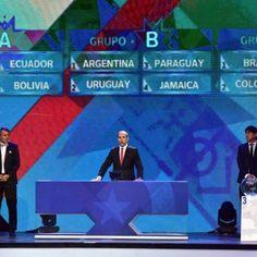 Calendario de la fase de grupos de la Copa América 2015.