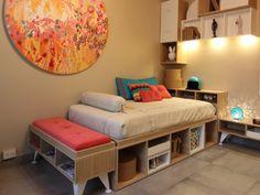 Cuarto Joven - Sergio Muchnik Estudio DASH | Masisa Inspira – Decoración, diseño de interiores y los mejores profesionales para usted