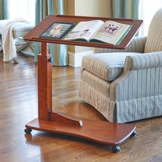 Use the Adjustable Bedside Table for eating, working on your laptop, and more. This stylish bedside table telescopes from to Couch Tray, Bed Tray, Couch Sofa, White Wood Furniture, Cool Furniture, Bedroom Furniture, Sage Living Room, Hospital Table, Hospital Bed