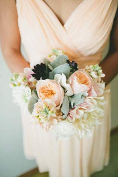 This Sonoma wedding is unbelievably gorgeous and personal with the cutest little guest!  Featuring the Jackie in Peach Fuzz and Victoria in Ballet Slipper