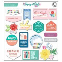 Pinkfresh Studio | Keeping it real collection | Chipboard stickers 3d Sticker, Alphabet, Keep It Real, Chipboard, Pretty Good, Cool Things To Make, Card Stock, Wings, Stickers