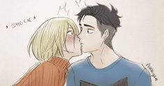 Yuri on ice/ Otabek Altin and Yuri Plisetsky