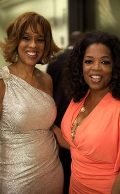 We love Gayle King! She sets the bestie bar for sure! If you could be any BFF with a celebrity, who would it be?