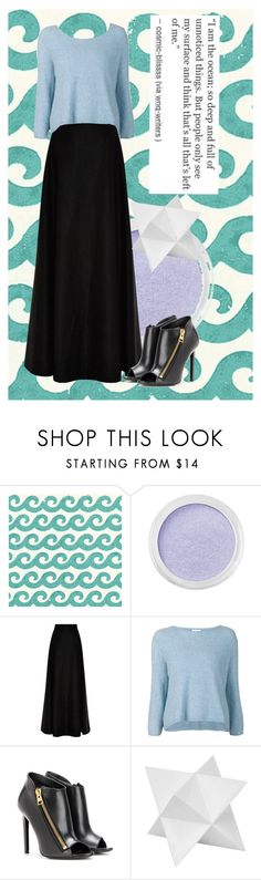 """""""I am the ocean"""" by kate-reads on Polyvore featuring Thibaut, Bare Escentuals, Rosie Assoulin, 3.1 Phillip Lim, Tom Ford and Dot & Bo"""