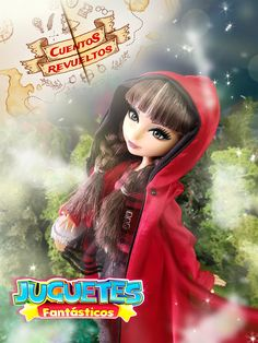 Hola caperucita! #everafterhigh #doll #dollshot #dollcollection #dollcollector #muñeca #caperucita