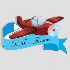Beautiful Wright Jet   Kidsu0027 Room Door Sign. Jet KidsName PlaquesName ...