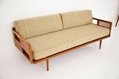 If I didn't have kids, I would buy this yesterday!! :)    Mid Century Style Sofa by woodstreet on Etsy, $1150.00