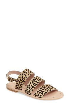 Matisse Matisse Owen Genuine Calf Hair Sandal (Women) available at #Nordstrom