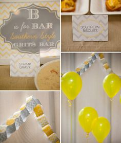 B is for Baby themed shower