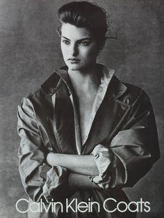 Linda Evangelista  Calvin Klein ad 1986