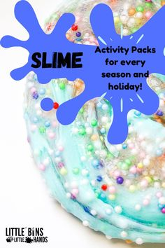 Nothing says sensory fun better than a good SLIME recipe! Luckily enough, there's a good slime recipe for every season and holiday to engage your child in sensory learning all year round. With these Holiday/Seasonal Slime Activity Packs for kids, there are no limits to their sensory exploration. Just a few activities included in these packs are Halloween experiments with slime science, rainbow floam slime, and so many more. Fall Preschool Activities, Halloween Activities For Kids, Valentines Day Activities, Holiday Activities, Learning Activities, Homemade Gifts, Diy Gifts, Stem Projects For Kids, Halloween Science