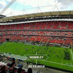 Endlich wieder in #London zum Football. Heute dann #NFL mit #JaxinUk und #ColtsinLondon. Schon sehr gespannt auf das Spiel.  #NFLUK #ranNFL #Wembley #fun #sports #americanfootball #INDvsJAx