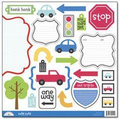 Doodlebug Design - On The Go Collection