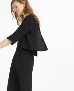 Image 3 of LONG LAYERED JUMPSUIT from Zara