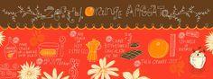 They Draw And Cook - Zesty Orange Affogatospan by Salli Swindell