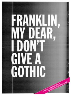 Typo Posters by Daniel Vind Graversen, via Behance