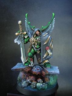Captain, Chapter Master, Dark Angels, Space Marines