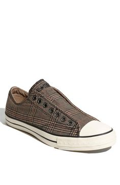 Converse by John Varvatos 'Chuck' Plaid Sneakers. Very cool.