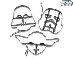 Formas para biscoitos Star Wars