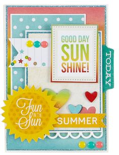 Card: New Simple Stories Good Day Sunshine