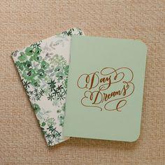 Antiquaria: Mint Day Dreams Notebook Set, Set of 2 Pocket Notebooks #MarthaStewartAmericanMade