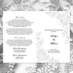 Catholic Church Wedding Program Carmella Gold