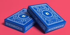 Two boxes of Facebook B2B marketing insights playing cards by Human After All