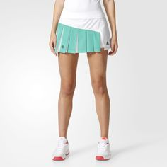 adidas - RG SKIRT Tennis Shoes Outfit, Tennis Dress, Tennis Clothes, Womens Tennis Skirts, Gym Shorts Womens, Adidas, Tennis Fashion, Indie Outfits, Sport Wear