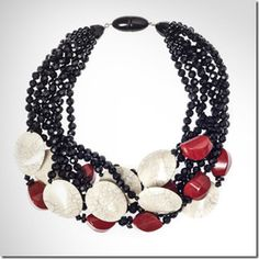 Angela Caputi necklace, via Financial Times & Halcyon House.