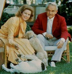 Grace Kelly and Prince Rainier of Monaco