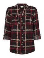 Look what I found at House of Fraser House Of Fraser, Plaid, Autumn, Shirts, Tops, Women, Fashion, Gingham, Moda