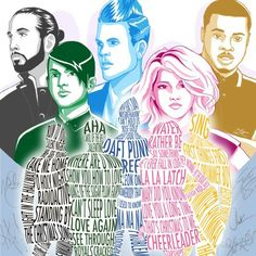 30 Things You Should Know About Pentatonix Aha! Love this so much!!!! Amazing Ptx Pentatonix art