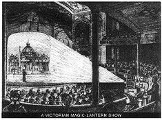 "The ""magic lantern show"" was the 19th Century equivalent of today's movies"