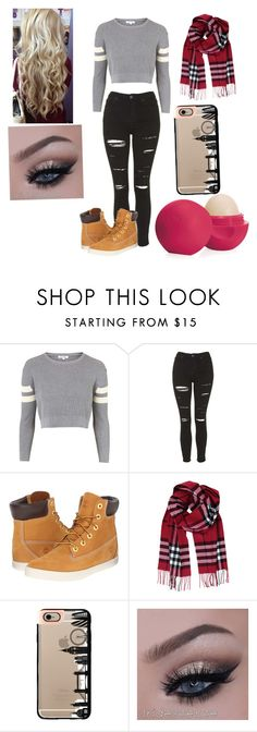 """Untitled #11"" by janeisy ❤ liked on Polyvore featuring Topshop, Timberland, Humble Chic, Casetify, Eos, women's clothing, women's fashion, women, female and woman"