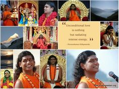 Unconditional love is nothing but radiating intense energy -Paramahamsa Nithyananda