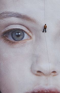 "Gottfried Helnwein, ""The last Child"".  digital print 