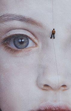 "Gottfried Helnwein, ""The last Child"".  digital print | Installation in the city of Waterford (2008)"