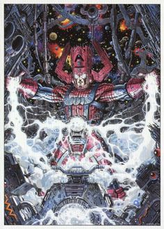 Galactus//Giorgio Comolo/C/ Comic Art Community GALLERY OF COMIC ART