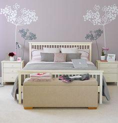 Come dipingere le pareti della camera da letto