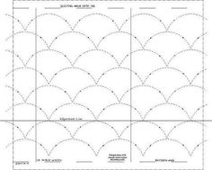 Quilting designs for walking foot - Google Search