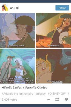 Atlantis; Atlantis: The Lost Empire; tumblr
