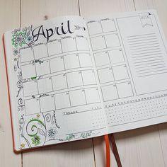 Bullet Journal Monthly Log, Bullet Journals, Bullet Journal Inspiration, Journal Ideas, Calander, Creative Lettering, Journal Layout, Happy Planner, Banner