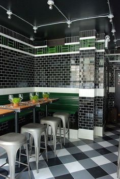 Appetizing Design: 10 New and Noteworthy NYC Restaurants | Projects | Interior Design #restaurantdesign