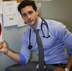 Doctor mike Make a fist for me Doctor Mike, Dr Mike Varshavski, Hot Doctor, Costume Sexy, Beautiful Men Faces, Men In Uniform, Big Men, Good Looking Men, Man Crush