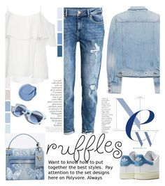 """""""YOUR STYLE ruffles"""" by licethfashion ❤ liked on Polyvore featuring adidas, rag & bone, BB Dakota, By Terry, Pinko, Valentino, polyvoreeditorial and licethfashion"""