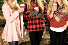 Cozy and cute winter wardrobe