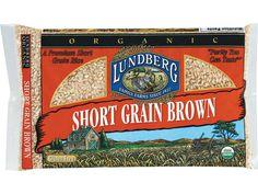 Organic Short Grain Brown Rice #Organic #GlutenFree #gf  Lundberg Family Farms