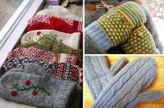 DIY: Rukavice zo starého svetra