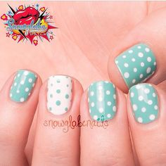 """""""Flashback mani!!!!! I love the simplicity of this! Using @chinaglazeofficial For Audrey """""""